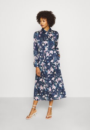MARGOT DRESS - Skjortekjole - blue