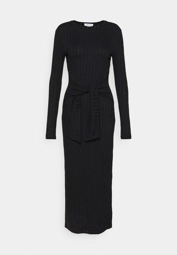 IRIS DRESS - Jumper dress - schwarz