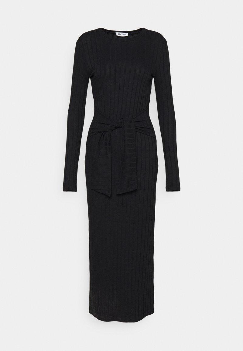 EDITED - IRIS DRESS - Strikket kjole - schwarz