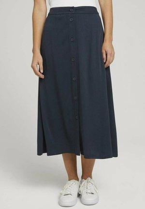 A-line skirt - sky captain blue