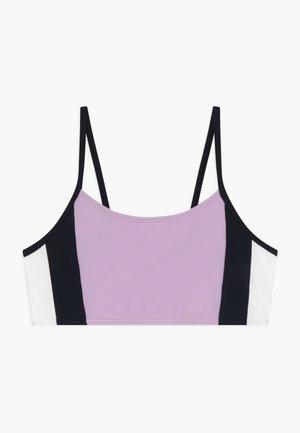 COLORBLOCK - Bikini top - lilac