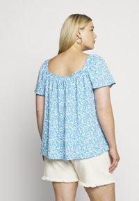 Fashion Union Plus - BEANA - Blouse - blue/white - 2