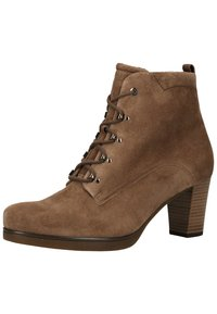 Gabor - Lace-up ankle boots - mohair - 2