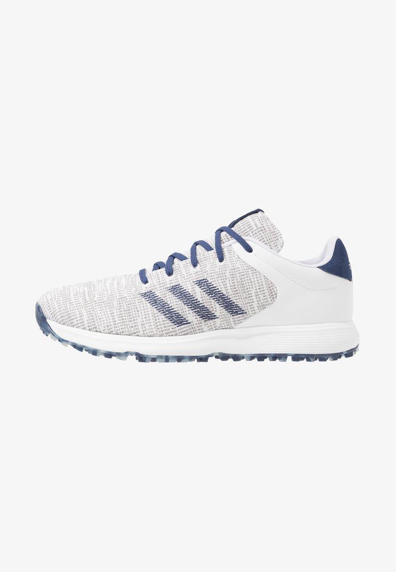 adidas Golf - S2G - Golfové boty - footwear white/tech indigo/grey three