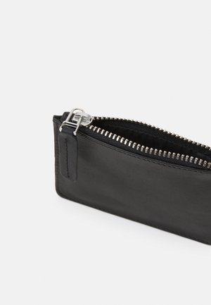 WALLET WITH RING UNISEX - Peněženka - black