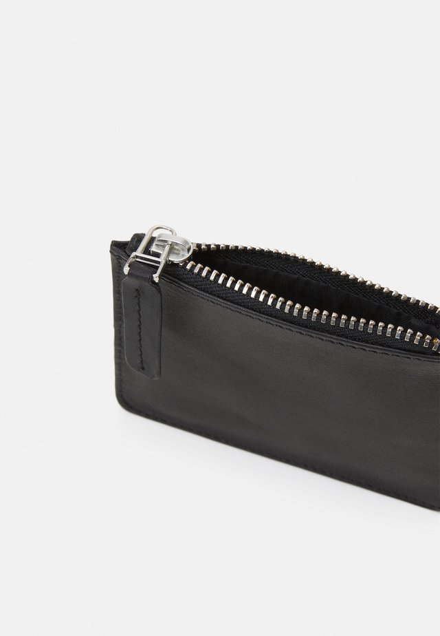 WALLET WITH RING UNISEX - Portemonnee - black