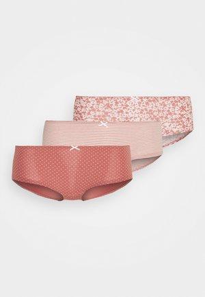 PANTY 3 PACK - Pants - rosenholz