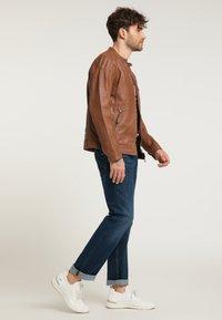 Mustang - Leather jacket - braun - 3