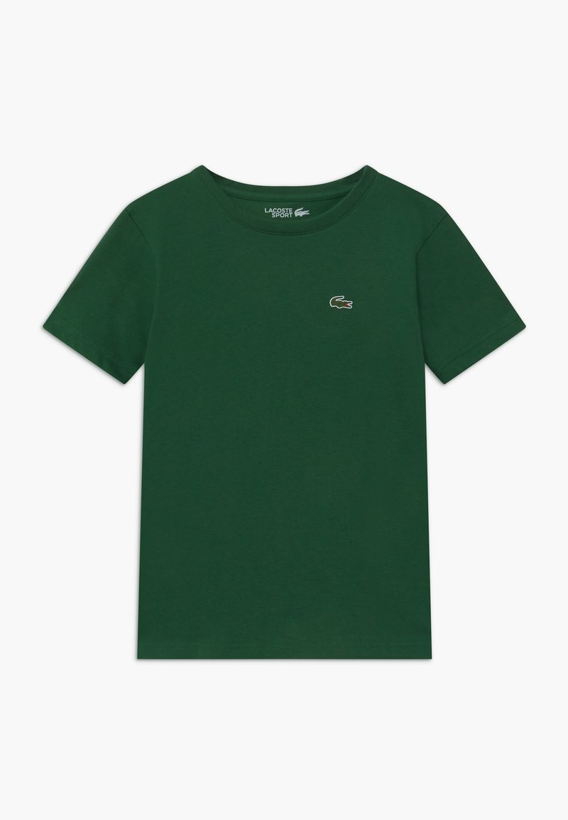 Lacoste Sport - LOGO UNISEX - Basic T-shirt - green