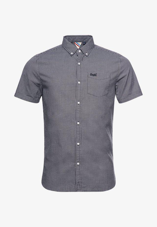 Overhemd - inverse gingham black