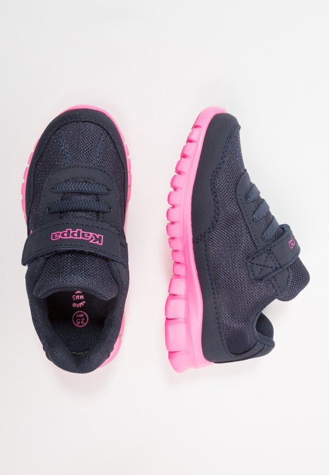 Sports shoes - navy/pink
