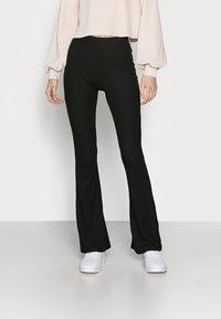 ONLY Tall - ONLNELLA FLARED PANT - Pantaloni - black - 0