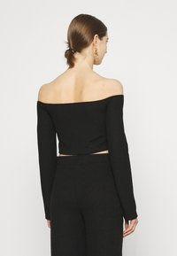 Nly by Nelly - DRAWSTRING SET - Jumper - black - 2