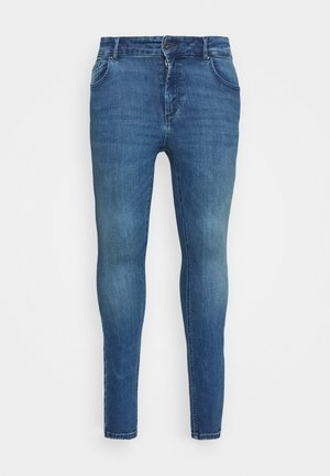 CARWILMA LIFE REGULAR - Jeans Skinny Fit - medium blue denim