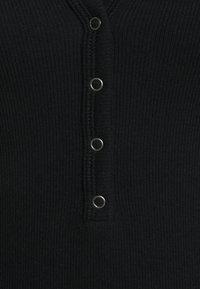 Abercrombie & Fitch - Top sdlouhým rukávem - black - 2
