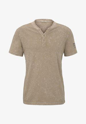 T-shirt z nadrukiem - silver ecru