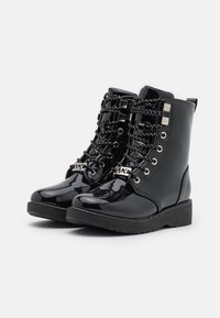 MICHAEL Michael Kors - HASKELL - Lace-up ankle boots - black - 1