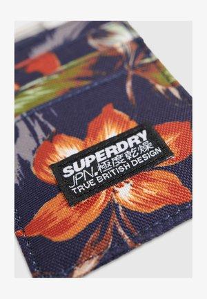 SUPERDRY FABRIC CARD WALLET - Visitkortetuier - blue