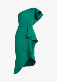 True Violet - TRUE ONE SHOULDER DRESS WITH FRILL DETAIL - Cocktail dress / Party dress - green - 4