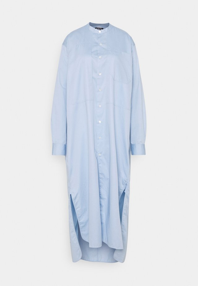 ANGLE - Shirt dress - blue