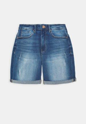 ONLPAOLA LIFE - Szorty jeansowe - medium blue denim