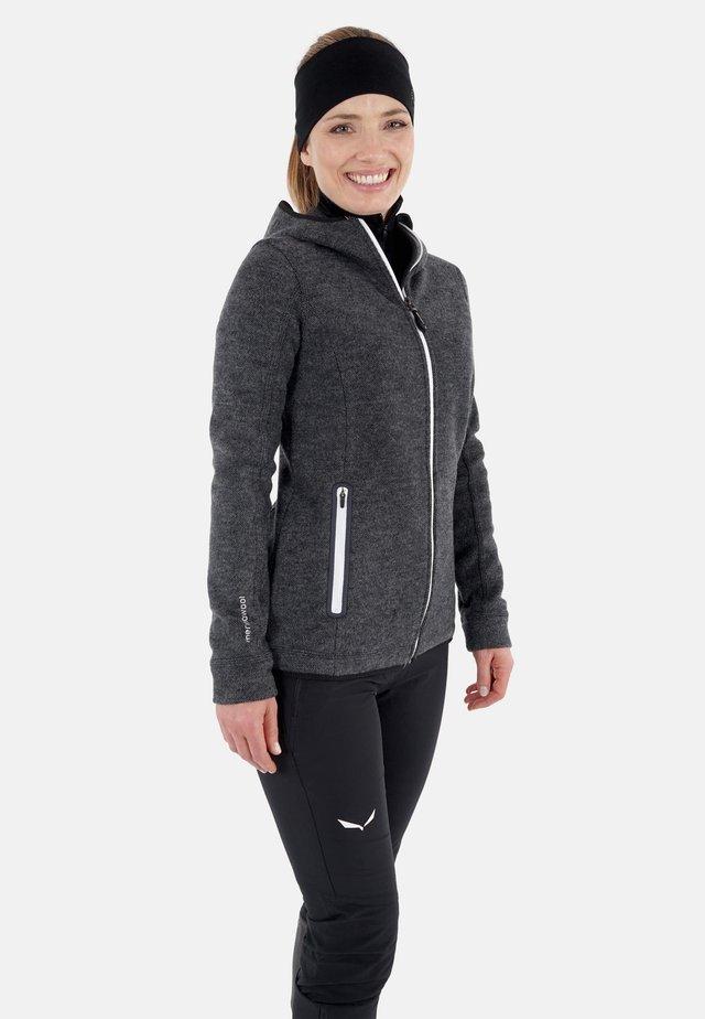 veste en sweat zippée - schiefer