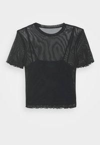Even&Odd - Print T-shirt - black - 7