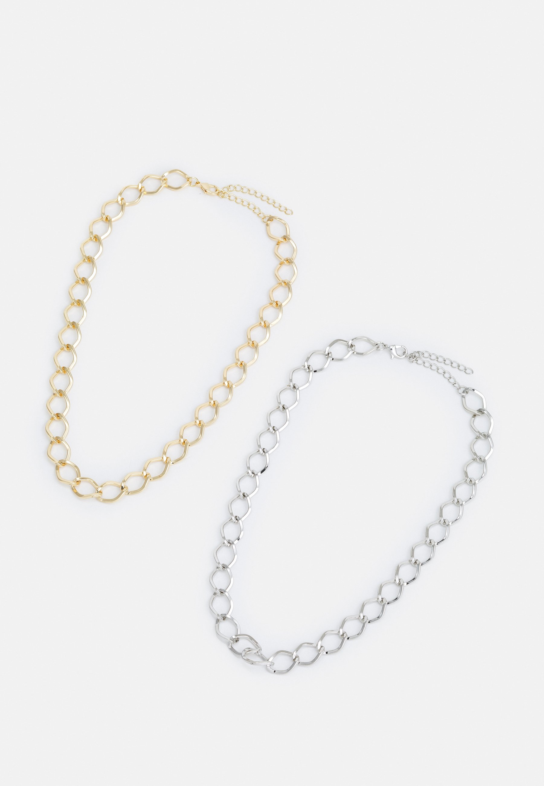 Women BIG CLASSIC NECKLACE 2 PACK UNISEX - Necklace