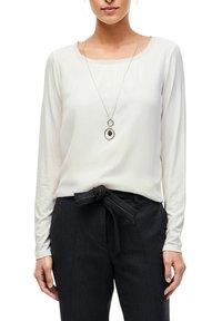 s.Oliver BLACK LABEL - Long sleeved top - soft white - 3