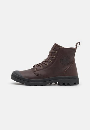 PAMPA UNISEX - Lace-up ankle boots - bison