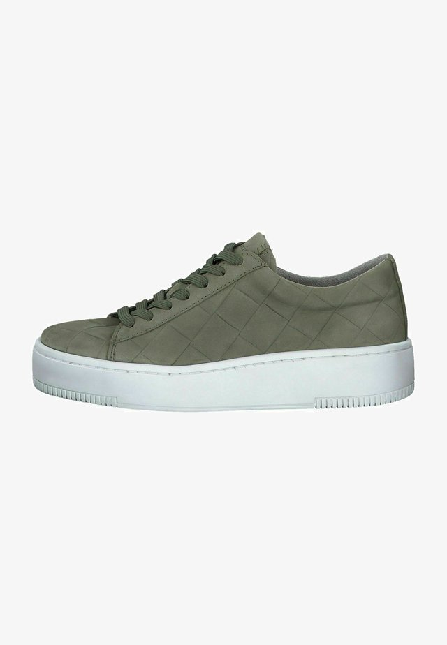 Sneakers laag - pistacchio