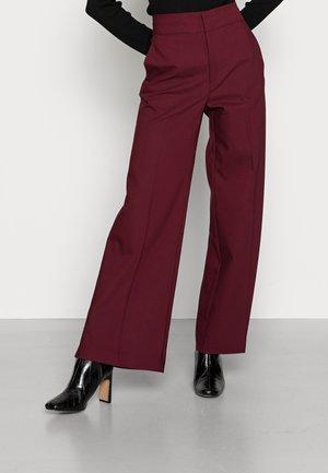 ZELLA - Trousers - bordeaux