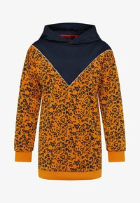 WE Fashion - MET CAPUCHON - Robe d'été - orange - 0