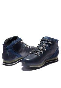 Timberland - SPLITROCK - Casual lace-ups - navy full grain - 2