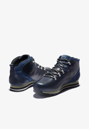 SPLITROCK - Casual lace-ups - navy full grain