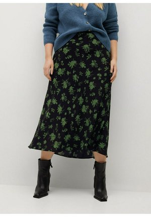 CLORO - A-line skirt - schwarz