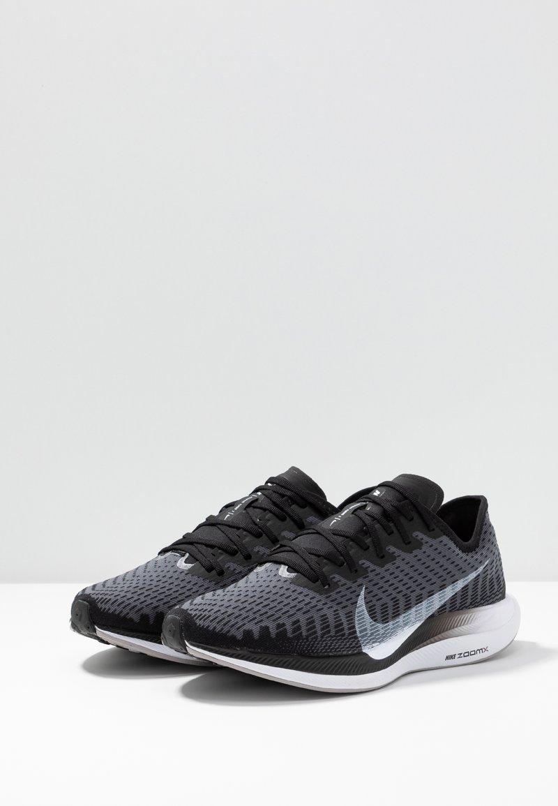 obtener Avanzar recomendar  Nike Performance ZOOM PEGASUS TURBO 2 - Neutral running shoes - black/white/gunsmoke/atmosphere  grey/black - Zalando.co.uk