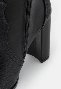 Wallis - PUDDING - High heeled boots - black - 5