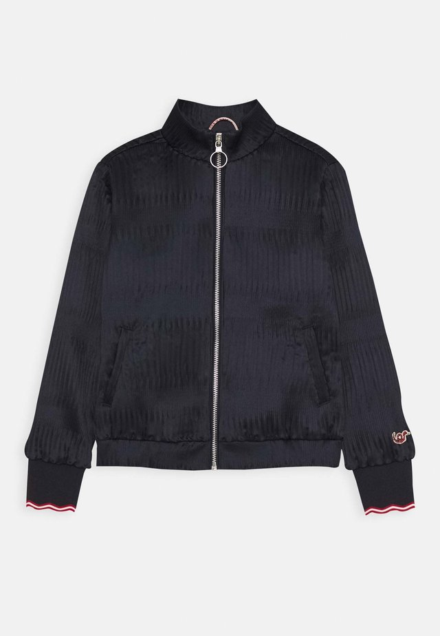 SPECIAL MODERN PLISSE QUALITY - Bomber Jacket - midnight