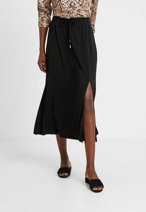 NABAI SKIRT - Spódnica trapezowa - black