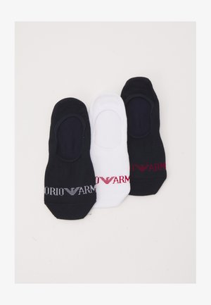 INVISIBLE SOCKS 3 PACK - Trainer socks - blu/bianco/blu