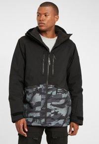 O'Neill - TEXTURE JACKET - Snowboard jacket - black out - 0