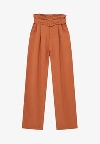 PULL&BEAR - Trousers - mottled orange - 5