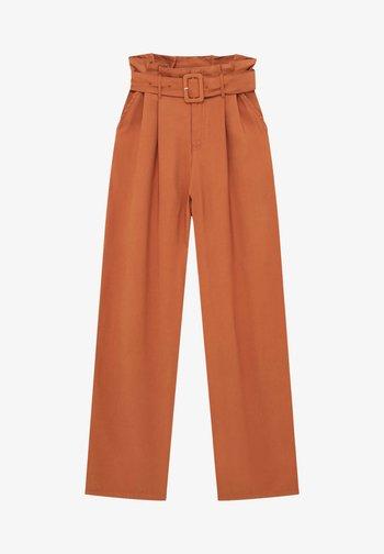 Pantaloni - mottled orange