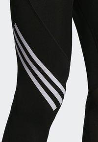 adidas Performance - Alphaskin Sport+ Long 3-Stripes Tights - Leggings - black - 5