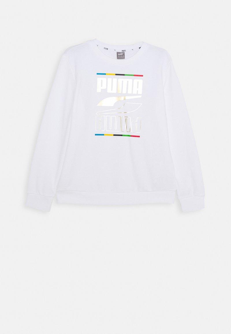 Puma - REBEL CREW 5 CONTINENTS  - Sweater - white