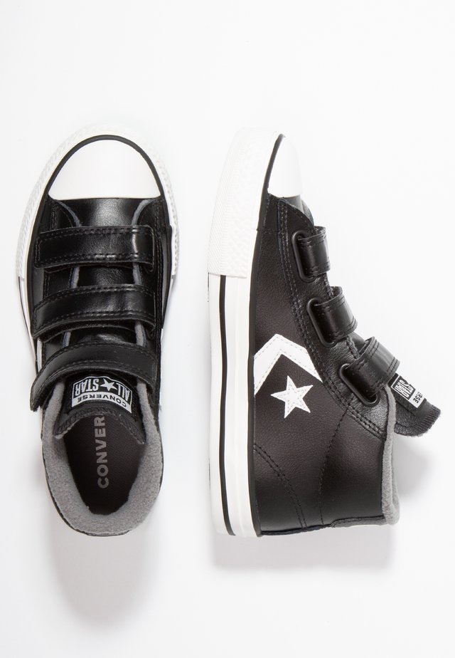 STAR PLAYER - Sneakersy wysokie - black/mason/vintage white