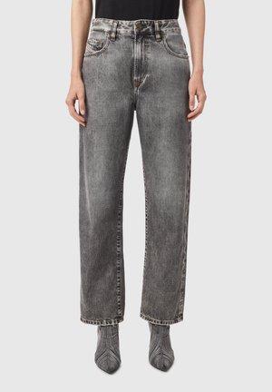 D REGGY - Straight leg jeans - black/dark grey