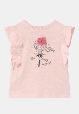 Print T-shirt - pearl
