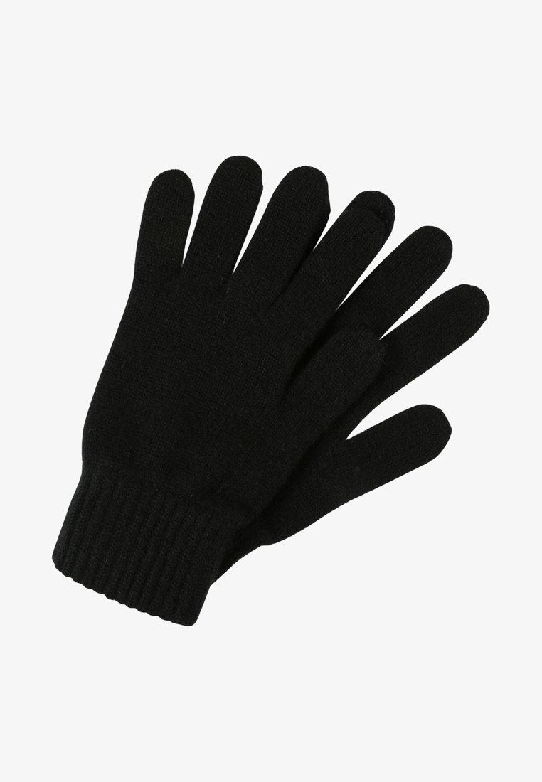 Johnstons of Elgin - CASHMERE GLOVES - Gloves - black